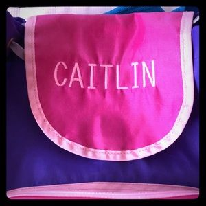 Caitlin personalized backpack